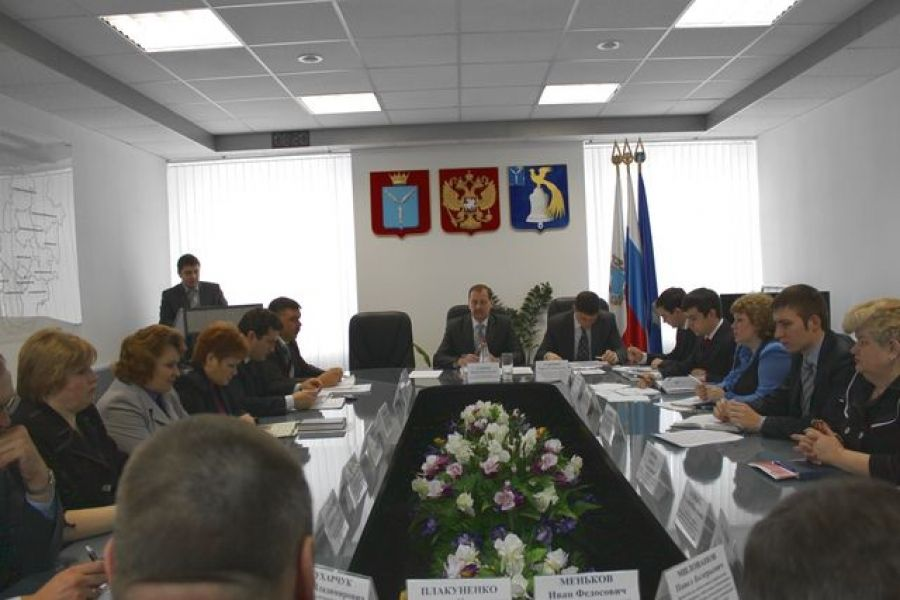 Состоялось очередное аппаратное совещание при главе администрации Татищевского муниципального района