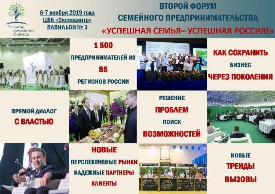 «Успешная семья – успешная Россия!»: приглашаем на Форум, посвященный семейному бизнесу