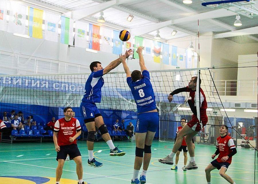 В выходные - волейбол!