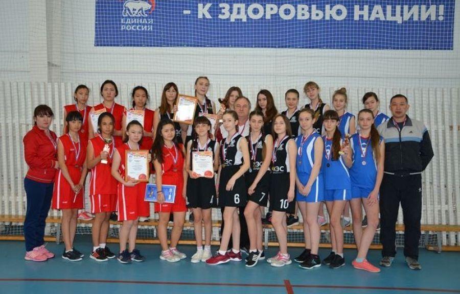 Открытое первенство по баскетболу среди девушек