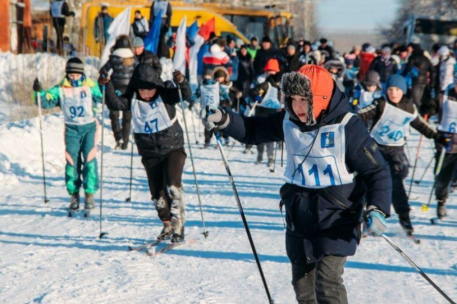 Мороз и… лыжи - день чудесный!