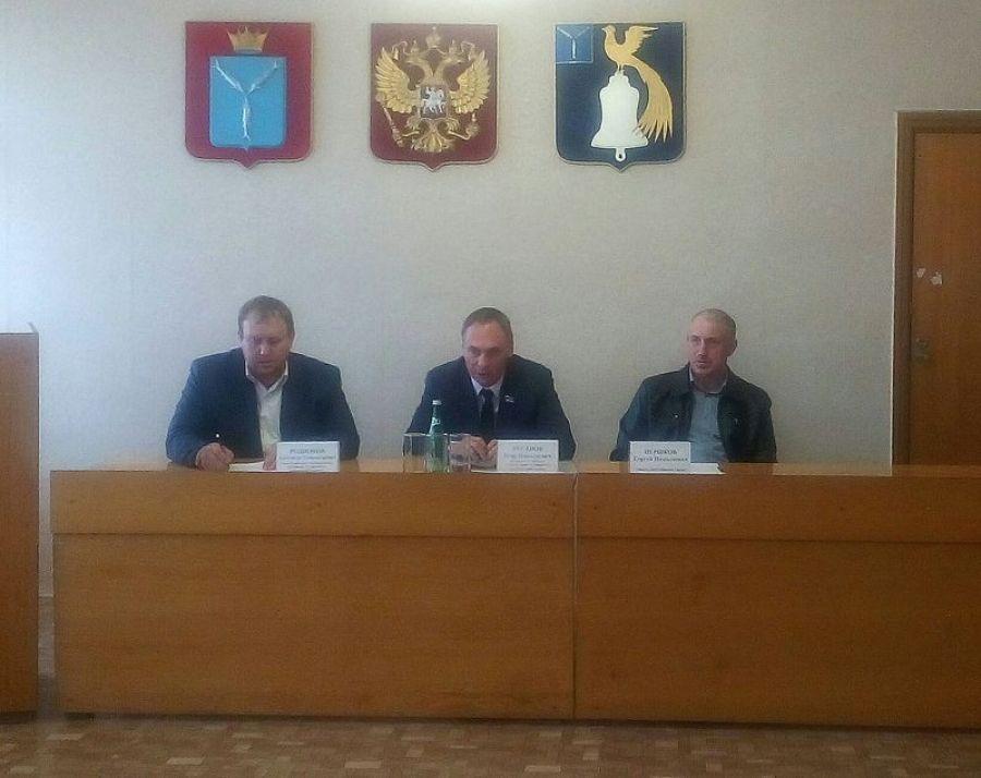 Собрание актива Октябрьского МО