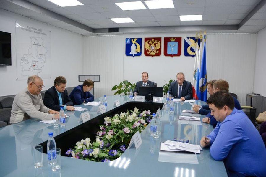 Состоялось заседание Совета депутатов Татищевского МО