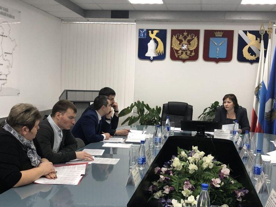 Заседание рабочей группы по увеличению доходной части консолидированного бюджета