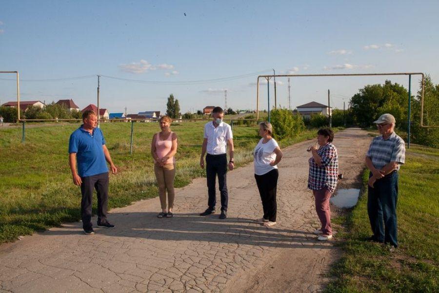 Встреча жителей улиц Верхняя и Свободная р.п.Татищево