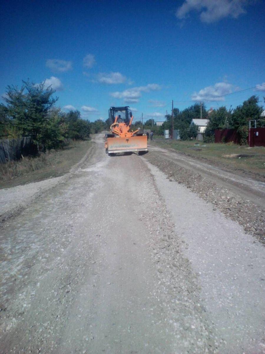 Грейдирование дорог в Вязовском муниципальном образовании