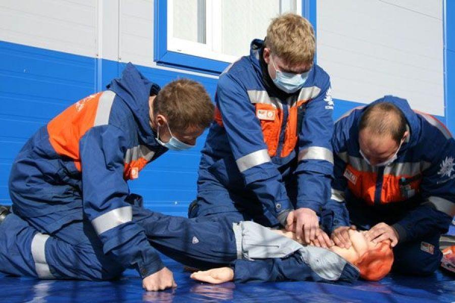 Обучение оказанию первой помощи пострадавшим